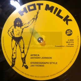 """Hot Milk-12""""-Africa/Anthony Johnson+Stereograph Style/Jah Thomas+Wicked Intension/Barrington Levy+Promised Land/Rod Taylor"""