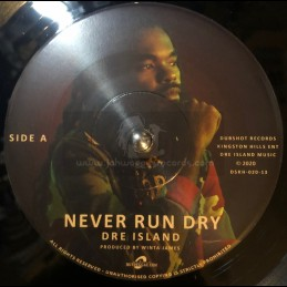 "DubShot Records-7""-Never Run Dry / Dre Island"