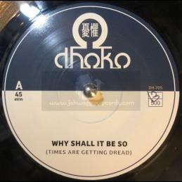 "Dhoko-7""-Why Shall It Be So / Dhoko"
