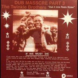 Twinkle Brothers-Lp-Dub It Inna Roots Style / Dub Massacre Part 3-The Twinkle Brothers