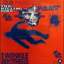 Twinkle Brothers-LP-The Killing Zone / Dub Massacre Part 4