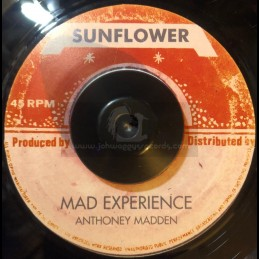 """Sunflower-7""""-Mad Experience / Anthony Madden"""