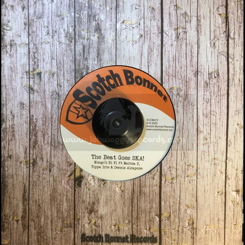 "Scotch Bonnet Records-7""-The Beat Goes SKA /  Marina P, Tippa Irie, Dennis Alcapone + Ivory Coast / Mungo's Hi-Fi"