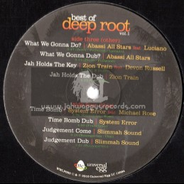 Universal Egg Double LP-The Best Of Deep Root Vol 1-Various Artists