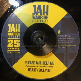 "Jah Warrior Records-7""-Please Jah, Help Me / Reality Souljahs"
