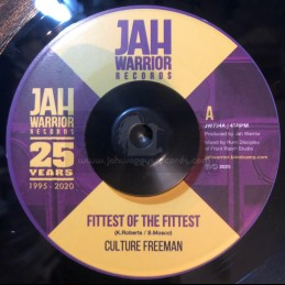 "Jah Warrior Records-7""-Fittest Of The Fittest / Culture Freeman"