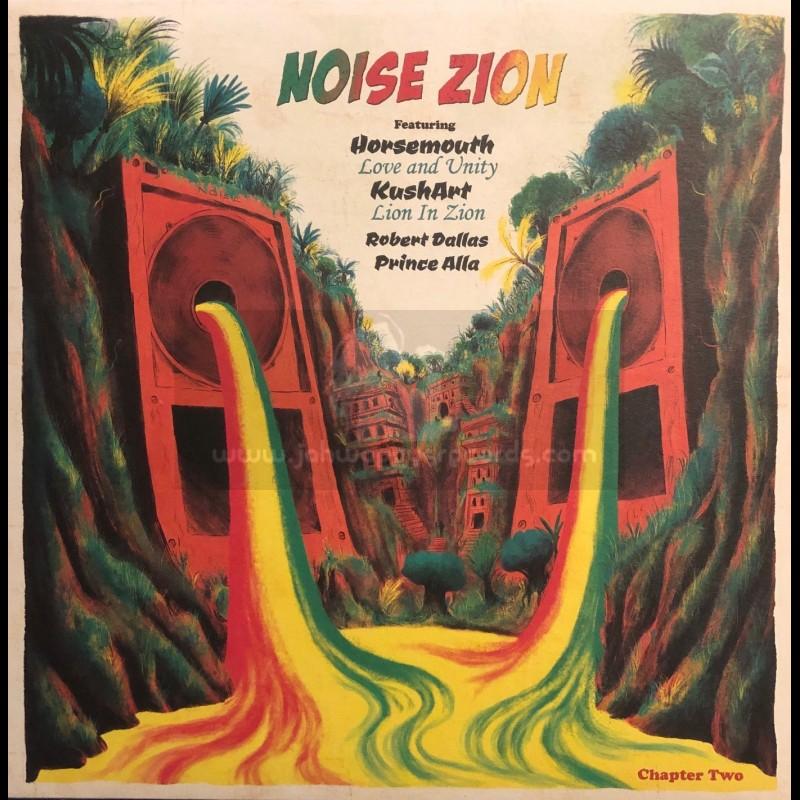 "Noise Zion-12""-Noise Zion Chapter 2 / Leroy ""Horsemouth"" Wallace, Kushart, Robert Dallas, Prince Alla"