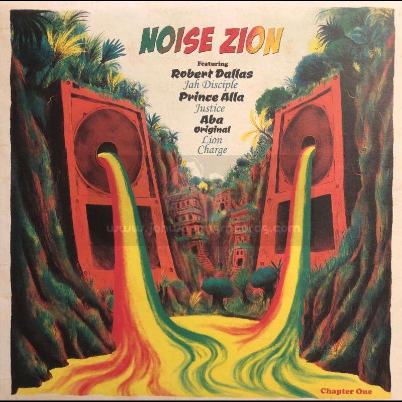 """Noise Zion-12""""-Noise Zion Chapter 2 / Robert Dallas, Prince Alla, Professor Liv'High, Noise Zion Band"""