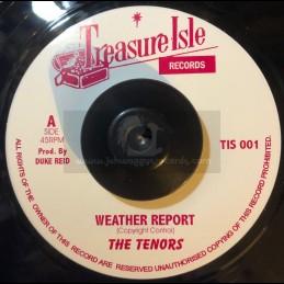 "Treasure Isle-7""-Weather Report / The Tenors + Hopeful Village / The Tenors"