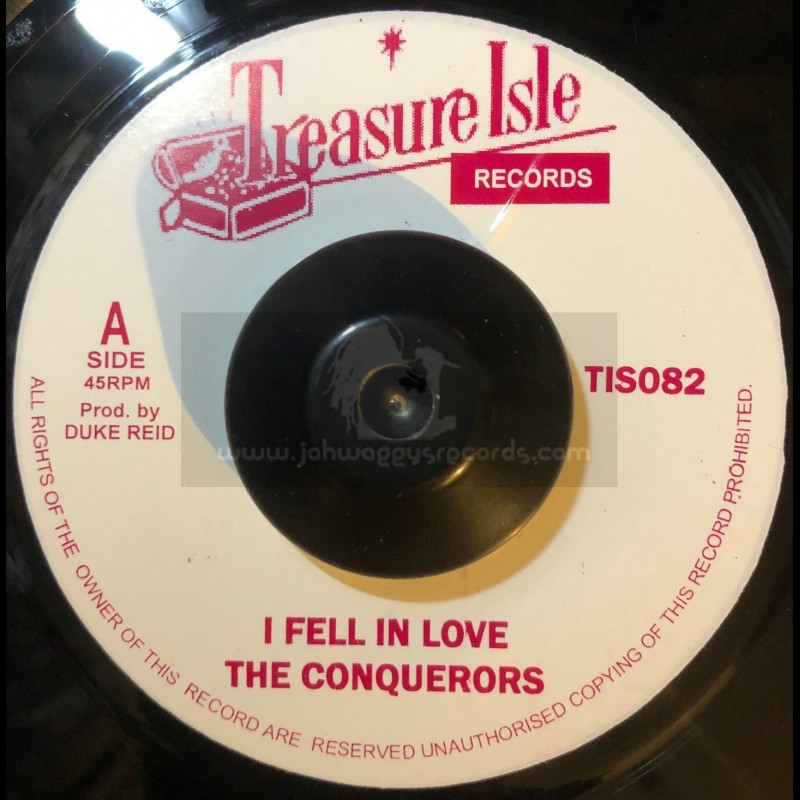 "Treasure Isle-7""-I Fell In Love / The Conquerors + Lonely Street / The Conquerors"