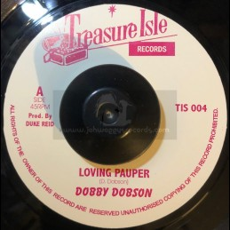 "Treasure Isle7""-Loving Pauper / Dobby Dobson + Midnight Hour / Silvertones"