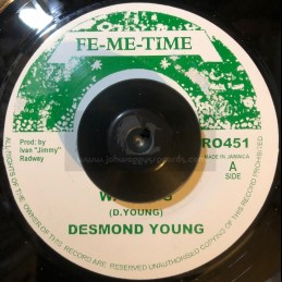 """FE-ME-TIME-7""""-WARNING / DESMOND YOUNG"""