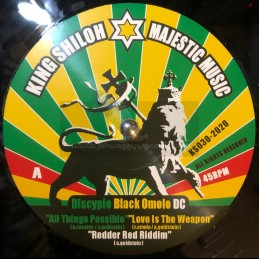 "King Shiloh Majestic Music-12""-All Things Possible / Discyple + Love Is The Weapon / Black Omolo"