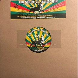 """King Shiloh Majestic Music-12""""-All Things Possible / Discyple + Love Is The Weapon / Black Omolo"""