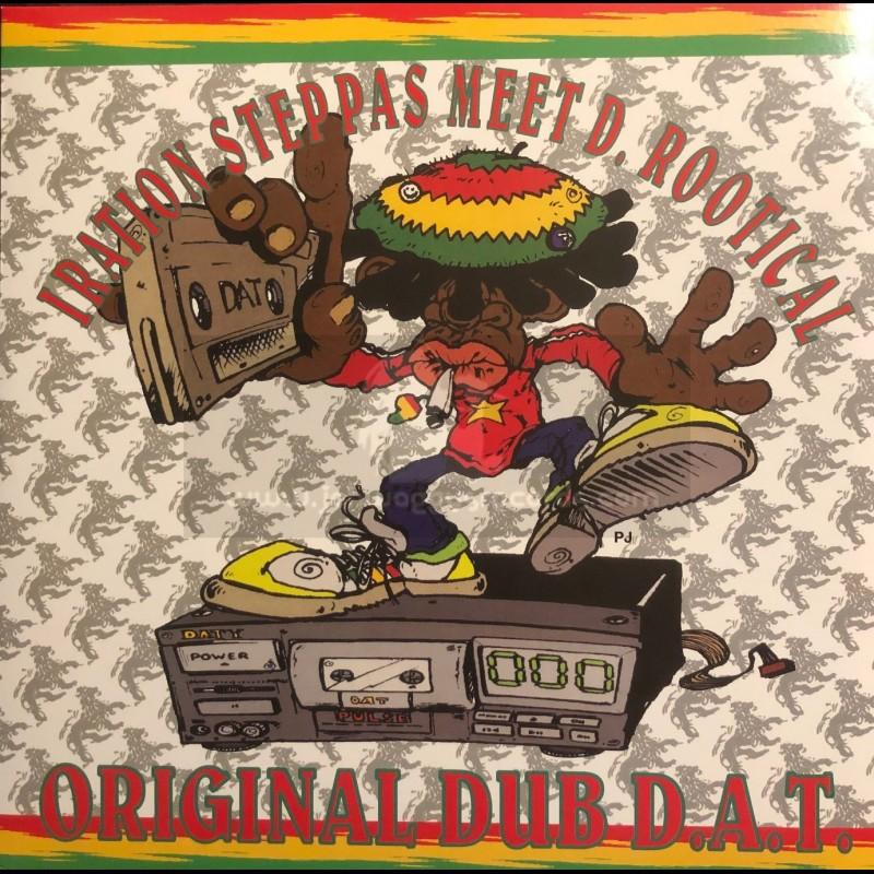 Dubquake Records-Double-Lp-Original Dub D.A.T. / Iration Steppas