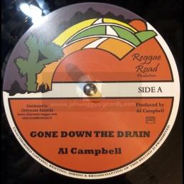 "Reggae Road-12""-Gone Down The Drain/Al Campbell + Mary Ann"