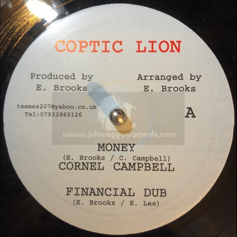 "Coptic Lion-10""-Money / Cornel Campbell + Loose Talk / Starkey Banton"