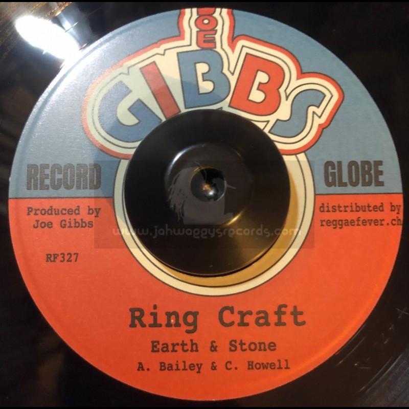 """Joe Gibbs-7""""-Ring Craft / Earth & Stone + Dreader Mafia / Snuffy & Wally"""