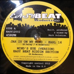 "Easy Beat Productions-12""-Jah Is On My Mind / Earl 16"