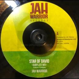 """Jah Warrior Records-7""""-Star Of David-Dubplate Mix / Jah Warrior"""