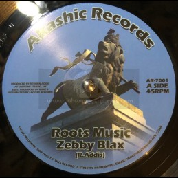 "Akashic Records-7""-Roots Music / Zebby Blax - Unitone"