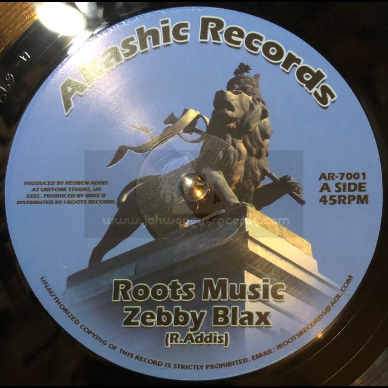 "Akashic Records-7""-Roots Music / Zebby Blax - Unitone"