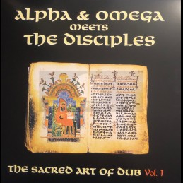Mania Dub-Lp-The Sacred Art Of Dub Vol.1 / Alpha & Omega Meets The Disciples