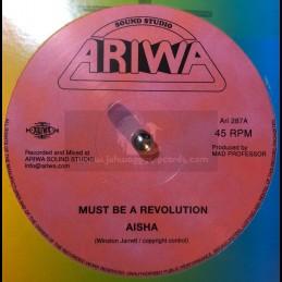 """Ariwa-12""""-Must Be A Revolution / Aisha + Emmiter Dub / Mad Professor"""