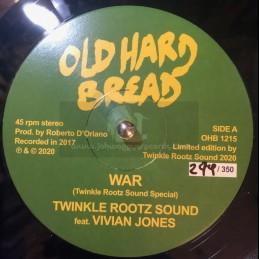 """Old Hard Bread-12""""-War / Twinkle Rootz Sound Feat. Vivian Jones"""