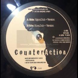 "Counteraction-10""-Ngoni Dub / I-Mitri – Dreadwise Meets Counteraction + Kora Dub / I-Mitri – Dreadwise Meets Counteraction"