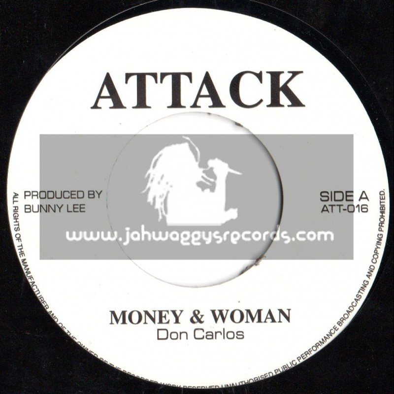 "Attack-7""-Money & Woman / Don Carlos"