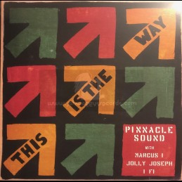 """Bat Records-12""""-This Is The Way / Pinnacle Sound, Marcus I, Jolly Joseph, IFi"""