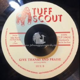 """Tuff Scout-7""""-Everyday Thing / Hue b"""