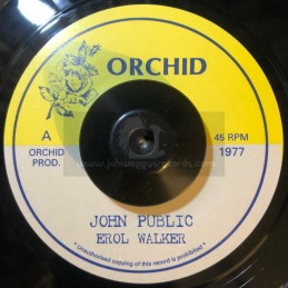 """Orchid-7""""-John Public / Erol Walker - Upsetters"""