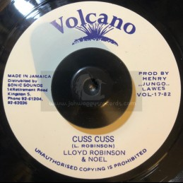"Volcano-7""-Cuss Cuss / Lloyd Robinson & Noel"