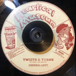 """Heartical Museum-7""""-Twists & Turns / General Levy+ Final Warning / Guive"""