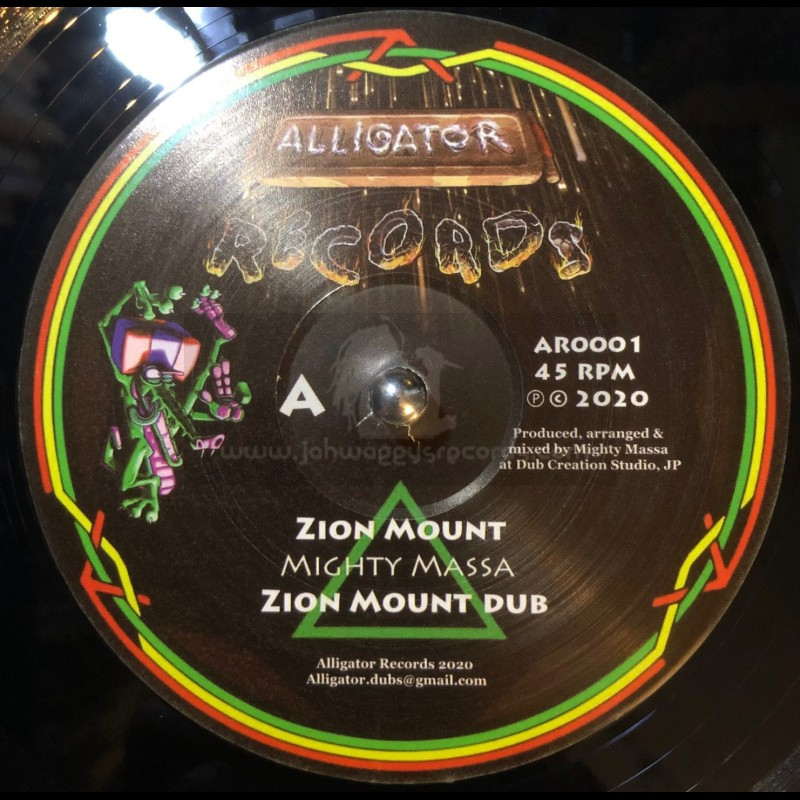 """Alligator Records-12""""-Zion Mount / Mighty Massa + The Kings Highway / Alligator Dubs"""