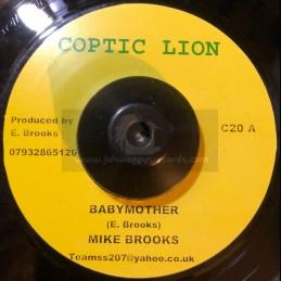 """Coptic Lion-7""""-Babymother / Mike Brooks + Thinking Reggae / Matic Horns"""