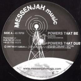 "Messenjah Music-12""-Powers That Be / Avaran + Deep Flight / Kosher Productions"