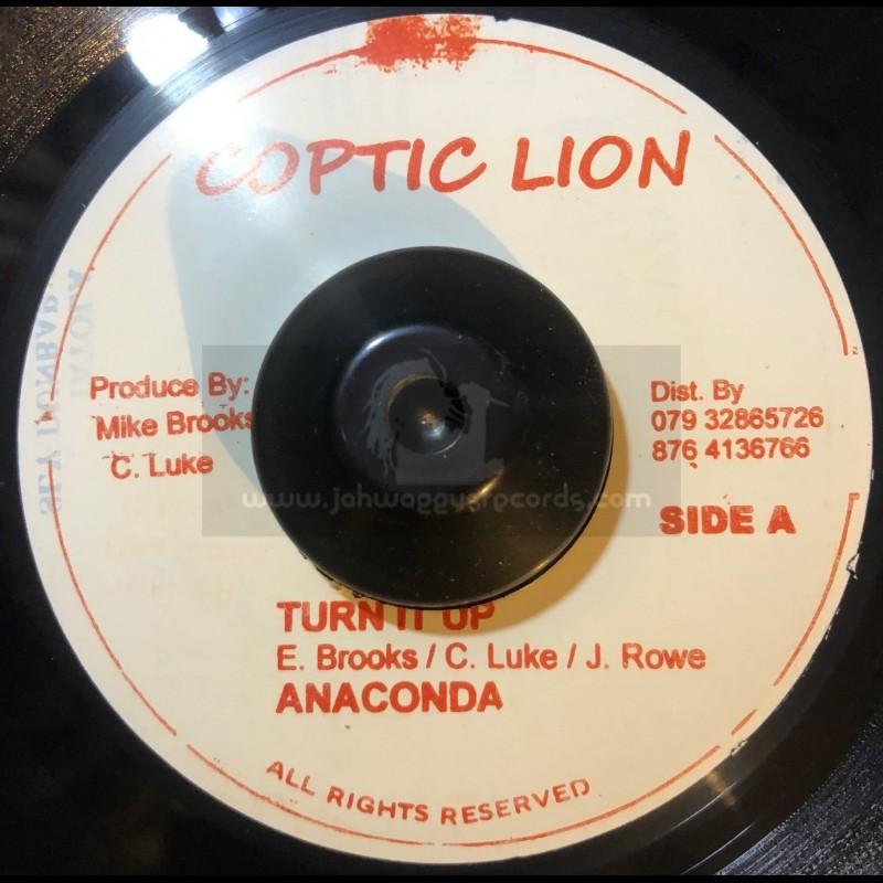 """Coptic Lion-7""""-Turn It Up / Anaconda _"""