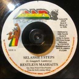 "Addis Records-7""-Selassie I Steps / Restless Mashaits + Tribal African Rhythm / Restless Mashaits"
