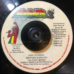 "Addis Records-7""-King Of Kings / Restless Mashaits"