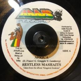 "Addis Records-7""-Africa / Restless Mashaits"
