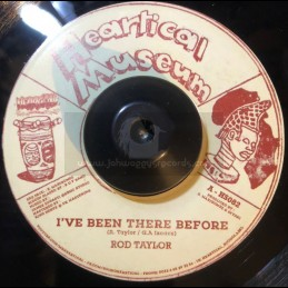 """Heartical Museum-7""""-I ve Been There Before / Rod Taylor + Baby Please / Carlton Livingston"""