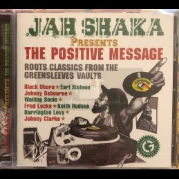 Greensleeves Records-CD-The Positive Message / Jah Shaka