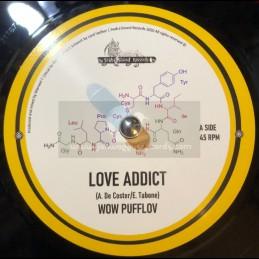 "Svaha Sound Records-7""-Love Addict / Wow Pufflov & Manuel T"