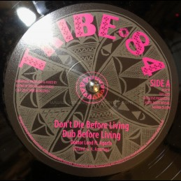 "Tribe 84-12""-Dont Die Before Living / Doctor Land Feat. Agarfa + Homegrown Ganja / Doctor Land Feat. Agarfa"
