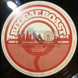 """Reggae Roast-12""""-Lazy Man / Charlie P(Iration Steppas) + Stand Firm / Adam Prescott Meets Charlie P"""