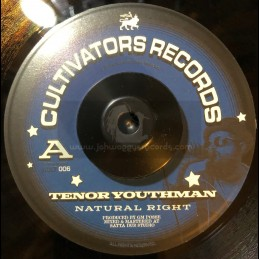 """Cultivators Records-7""""-Natural Right / Tenor Youthman"""