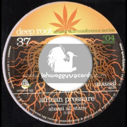 """Deep Root-7""""-African Pressuse / Abassi All Stars"""